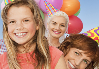 kids birthday party package